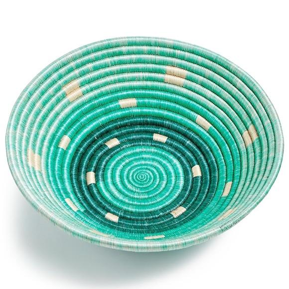 Global Goods Partners Other - Handwoven Rwandan ombre bowl basket Global Goods